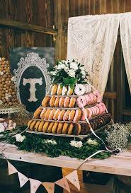 Non Traditional Wedding Decorations 198 Best Donut Towers Images On Pinterest Donut Tower Doughnut