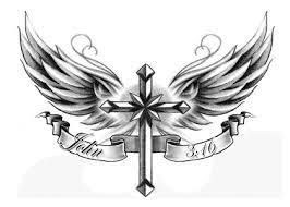 image result for cross with wings y