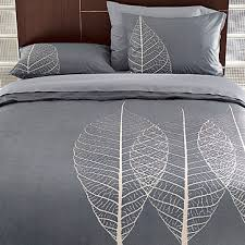 swissmiss | etched leaf duvet cover + shams - p_b329_pip_we07bp12d_pf07_070523130