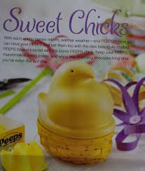 peeps basket the new beautifully crafted peeps basket topped with the iconic
