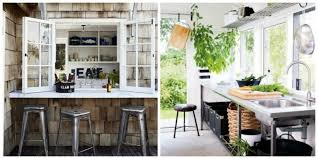 cuisine nature ideas furnishings kitchen open to the outside anews24 org