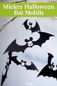 an adorably spooky mickey bat mobile mickey halloween seasonal