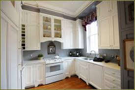chic grey kitchen walls white cabinets on grey kit 1218x814
