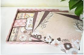 vintage scrapbook album vintage scrapbook kit diy photo album for gift 3 designs