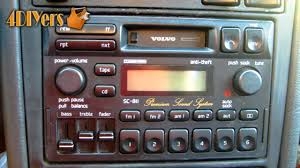 diy how to remove a volvo radio youtube