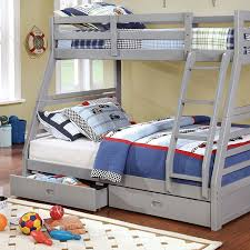 3 Bunk Bed Set Cm Bk588 California Iii Bunk Bed Furniture Of America