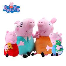 Peppa Pig Plush Original Brand Peppa Pig Plush Toys 19cm 7 5 Peppa George Pig