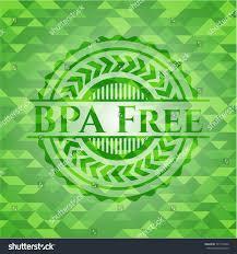 bpa free green mosaic emblem stock vector 737174350 shutterstock