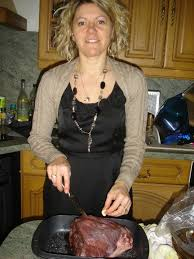 cuisiner le sanglier cuissot de sanglier roti aux gourmandises de steph