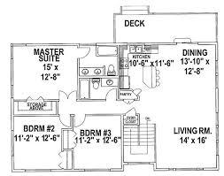 split level homes plans awesome 2 bedroom split level house plans home plans design