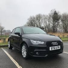audi a1 1 4 tfsi sport 3 door black 2012 petrol manual sold