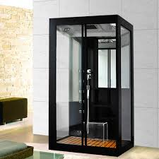 steam shower black luxory xl