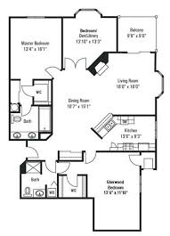 floor plans 3 bedroom 2 bath condos