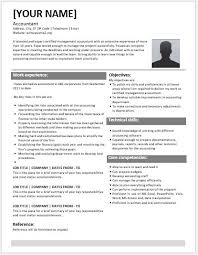 accountant resume template certified management accountant resume contents layouts templates