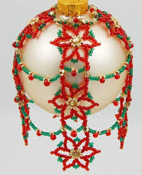 416 best esferas images on beaded ornaments