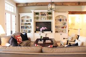 Living Room New Cabinet Design Ideas Gallery And Family Storage - Family room shelving