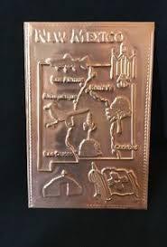 kopper kard postcards vintage copper postcard new mexico state design kopper kard co ebay