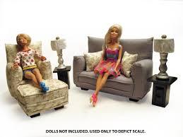 Livingroom Pc Barbie Doll Living Room Furniture Roselawnlutheran