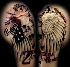 Don T Tread On Me Tattoo Ideas 10 Tattoos That Prove People Love Their Gun Rights