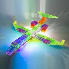 amazon com laser pegs 6 in 1 plane building set toys u0026 games