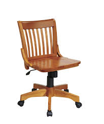 Best Cheap Desk Chair Design Ideas Osp Designs Deluxe Armless Wood Bankers Desk Chair
