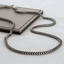 silver chain necklace snake images Sterling silver men 39 s snake chain necklace hurleyburley jpg