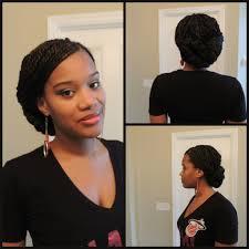 senegalese twist updo hairstyles senegalese twist briaded low bun