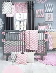 Pink And Grey Nursery Decor Baby Gray Nursery Ideas Katecaudillo Me