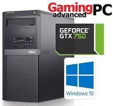 dell pc bureau gaming pc dell 790 i5 2500 8gb 500gb geforce gtx 750 1gb