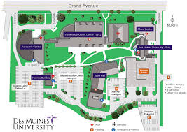 Boston University Map Campus And Directions Des Moines University