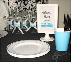 welcome home party decorations breakfast at tiffany decoration ideas event organizer