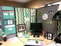 Work Desk Decoration Ideas Cubicle Decorating Golbiprint Me