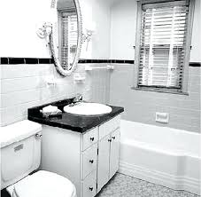 black and white bathrooms ideas classic black and white bathroomglamorous black white bathroom in