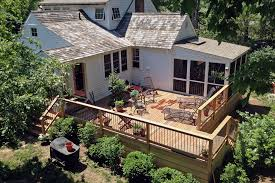 modern deck and fence lyme u2014 erikblock com