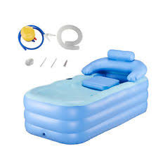 Portable Bathtub For Kids Folding Portable Spa Bathtub Pvc Warm Inflatable Bath Tub