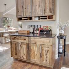 hickory grey stained kitchen cabinets 6 rustic farmhouse cabinet ideas woodland cabinetry