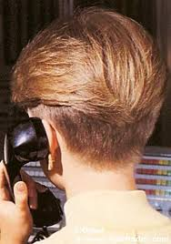 side view of blended wedge haircut hairxstatic short back cropped gallery 1 of 3