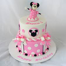 minnie mouse cake two tiered pink minnie mouse cake my cake place
