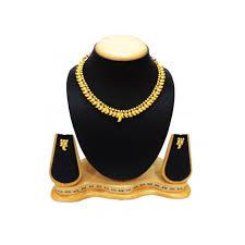 jewelry designs necklace sets images Satyamjewellerynx traditional mango design necklace set jewellery jpg