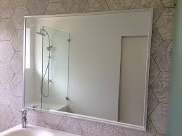 framed mirrors u2013 glass showerscreens mirrors doors by gobo