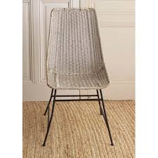Woven Dining Chair Vintage Woven Dining Chairs A Pair Chairish
