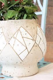 best 20 cement flower pots ideas on pinterest concrete pots
