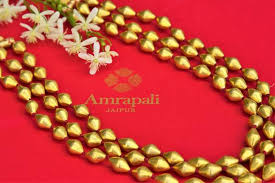 silver plated bead necklace images Buy silver gold plated amrapali layered dholki bead necklace JPG