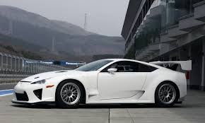 lexus supercar commercial 2010 lexus lfa racer photo gallery autoblog