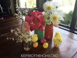 Easter Decorations For House by 6 Easy Mason Jar Easter Decorations