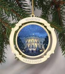 White House Christmas Ornament - 1 president trump u2013 celebrating america llc