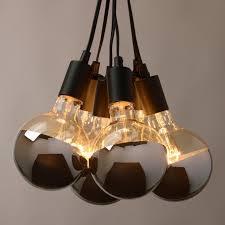 world market pendant light fantastic chrome tip 6 bulb cluster pendant l powder industrial