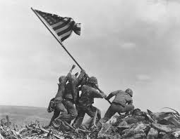 American Flag On The Moon Joe Rosenthal U0027s Iwo Jima Flag Raising Photo Controversy