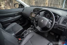 mitsubishi asx 2016 interior 2017 mitsubishi asx xls review video performancedrive
