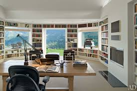 Modern Home Library Ideas For Bookworms And Butterflies - Home office library design ideas